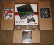 NEW SONY PLAYSTATION 3 console + extra bundle