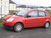 Car for Sale Ford Fiesta 2005 Diesel (1.4 L),  Red,  75K Miles,  Lady own